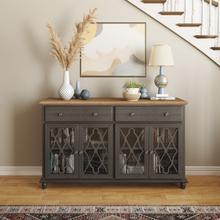 Product Image - Aurora Hills 4 Door Accent Chest-b. Grey/bisque