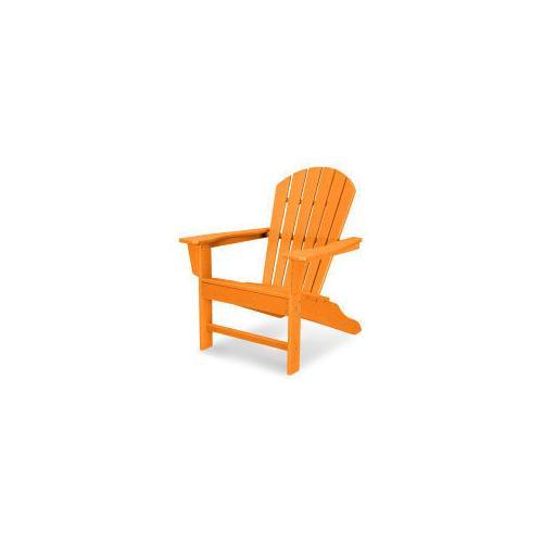 Polywood Furnishings - South Beach Adirondack in Vintage Tangerine
