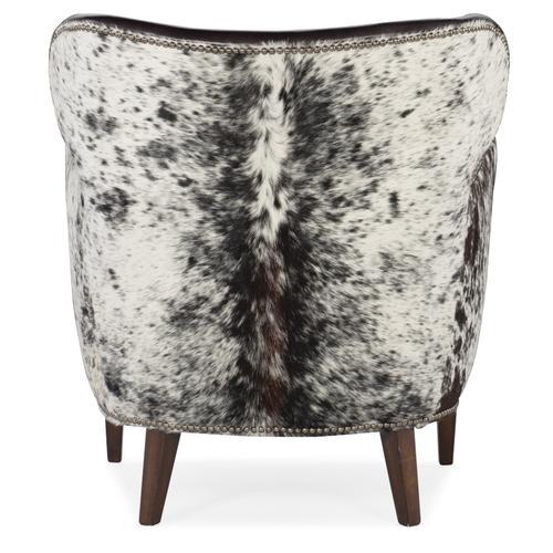 Hooker Furniture - Kato Leather Club Chair w/ Salt Pepper HOH