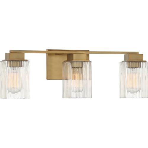 Quoizel - Danson Bath Light in Weathered Brass