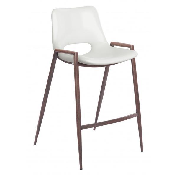 Desi Counter Chair White