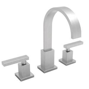 Satin Nickel - PVD Widespread Lavatory Faucet