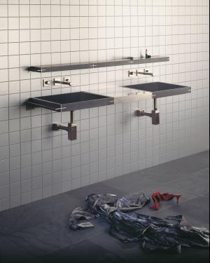 Sync System Small Shelf / Black Granite Product Image