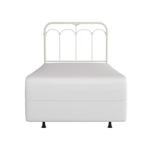 Jocelyn Metal Twin Headboard or Footboard, Soft White