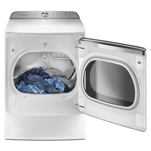 Maytag - Top Load Dryer with the PowerDry System and Extra Moisture Sensor - 9.2 cu. ft. White