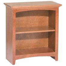 """GAC 29""""H x 24""""W McKenzie Alder Bookcase"""
