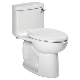 Compact Cadet 3 FloWise One-Piece Toilet with Left-Hand Trip Lever - 1.28 GPF  American Standard - White