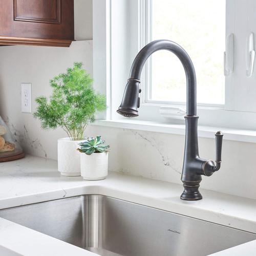 American Standard - Delancey Pull-Down Kitchen Faucet  American Standard - Legacy Bronze