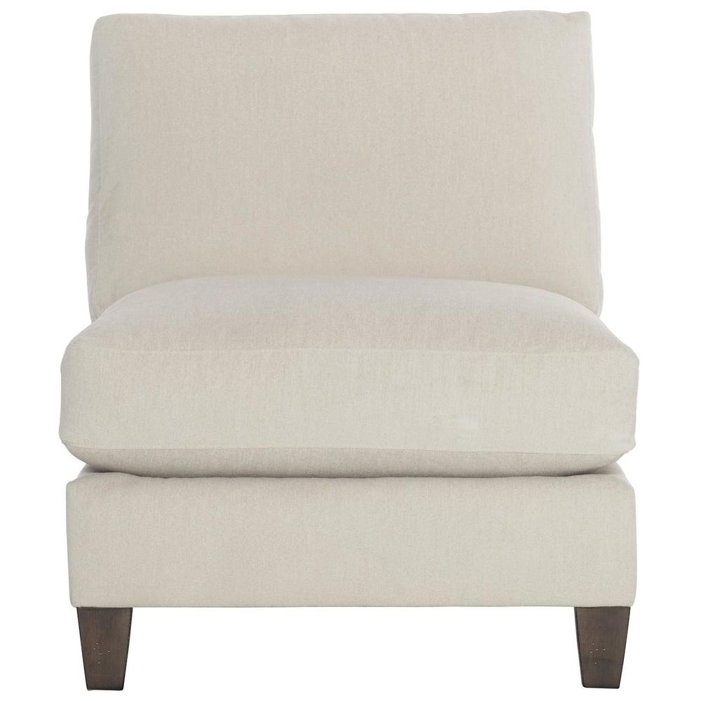 Mila Armless Chair in Aged Gray (788)