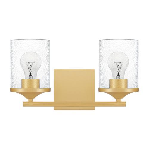 Quoizel - Abner Bath Light in Aged Brass