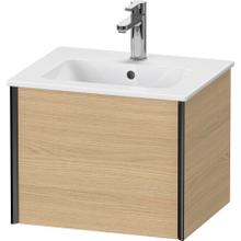 View Product - Vanity Unit Wall-mounted, Natural Oak