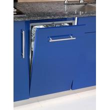 "18""/45cm wide, fully integrated dishwasher"