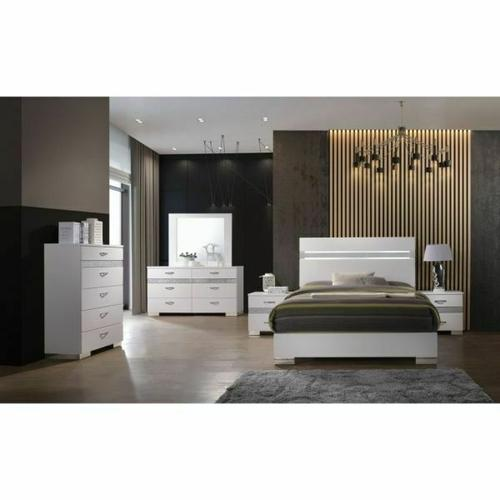 ACME Naima II Chest - 26776 - White
