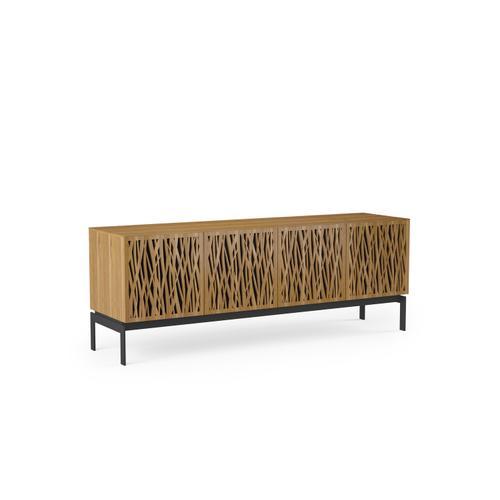 BDI Furniture - Elements 8779 Console Storage Console in Wheat Doors Natural Walnut