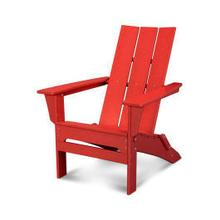 View Product - Modern Folding Adirondack in Sunset Red