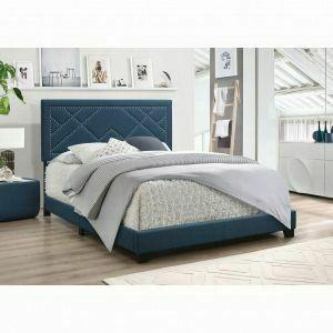 ACME Ishiko Queen Bed - 20860Q - Dark Teal Fabric