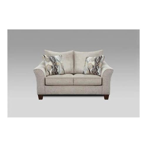 Affordable Furniture Manufacturing - Camero Platinum Loveseat