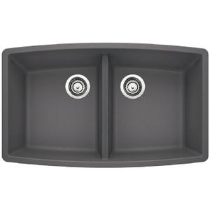 Performa Equal Double Bowl - Cinder