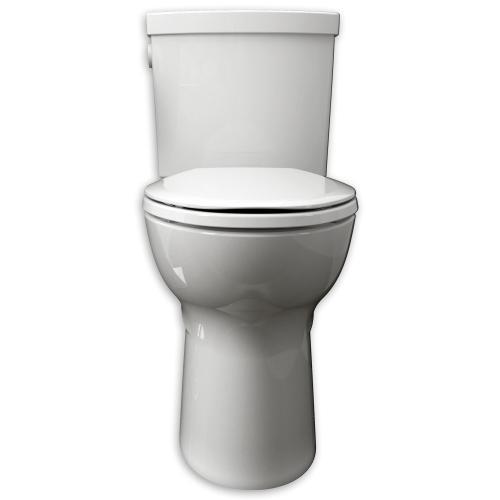 American Standard - Devonport ActiVate Touchless Flush Elongated Toilet - White