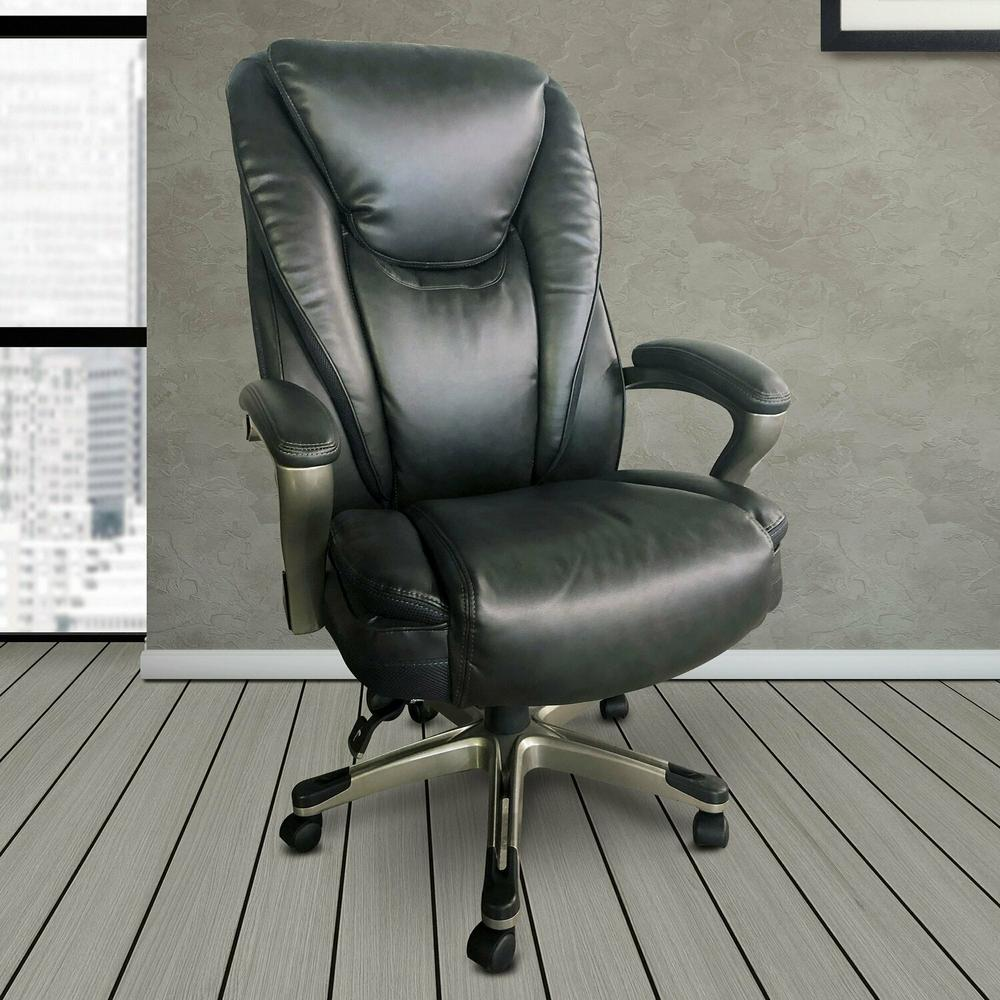 See Details - DC#310-GRY - DESK CHAIR Executive Desk Chair