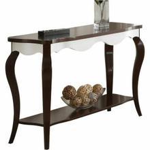 ACME Mathias Sofa Table - 80684 - Walnut & White