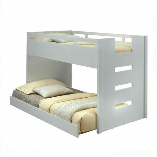 ACME Deltana Trundle (Twin) - 37472 - White