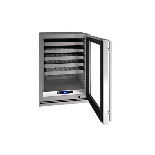 "24"" Wine Refrigerator With Stainless Frame Finish (115 V/ 60 Hz Volts / 60 Hz Hz)"