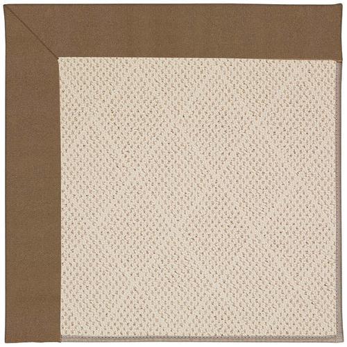 Creative Concepts-White Wicker Canvas Cocoa Machine Tufted Rugs
