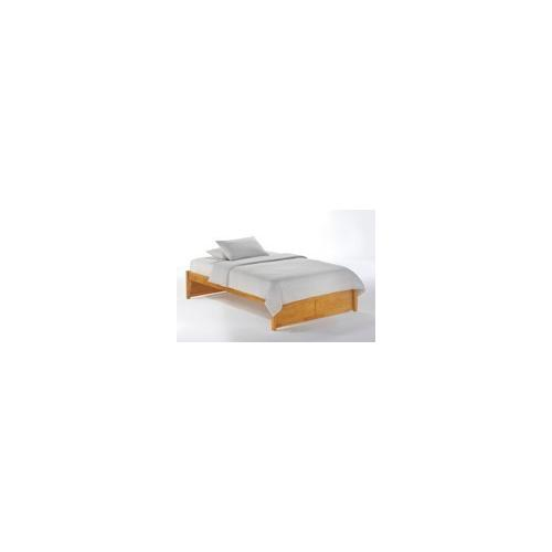 Night and Day Furniture - K-Series Basic Bed in Medium Oak Finish