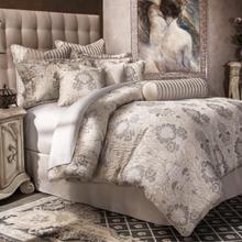 9pc Queen Comforter Set Silver