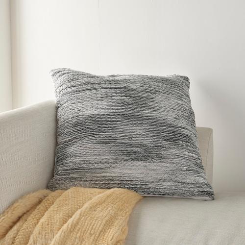 "Life Styles Dc257 Grey 26"" X 26"" Throw Pillow"