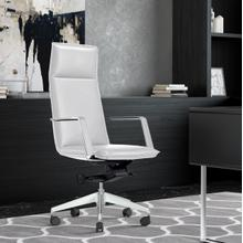 View Product - Modrest Gorsky - Modern White High Back Executive Office Chair