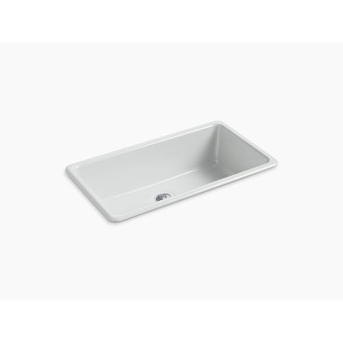 "Ice Grey 33"" X 18-3/4"" X 9-5/8"" Top-mount/undermount Single-bowl Kitchen Sink"