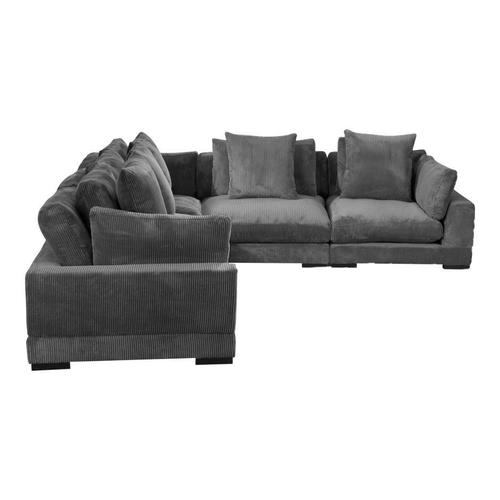 Moe's Home Collection - Tumble Classic L Modular Sectional Charcoal