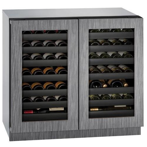 "36"" Dual-zone Wine Refrigerator With Integrated Frame Finish (230 V/50 Hz Volts /50 Hz Hz)"