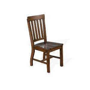 Lancaster Slatback Chair w/ Wood Seat