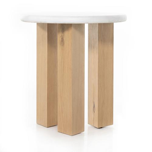 Four Hands - Odin Nightstand-stucco White