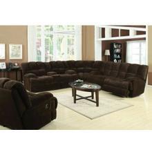 ACME Ahearn Sofa (Motion) - 50475 - Chocolate Champion