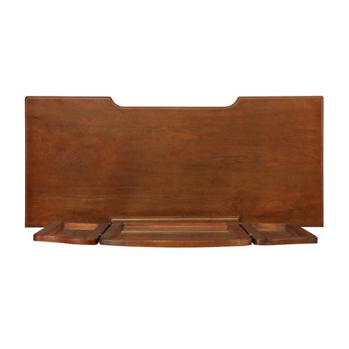 Powell Company - Warm Cherry Vanity, Mirror & Bench