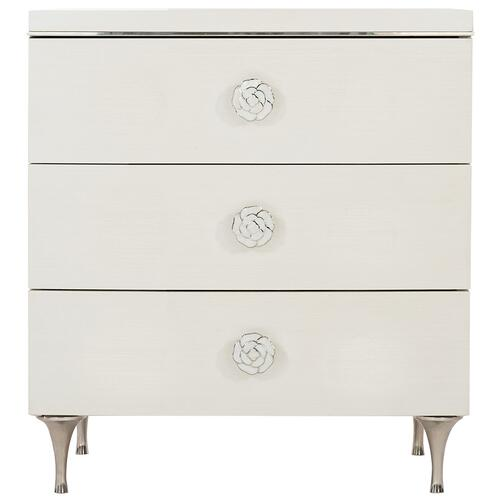 Silhouette Nightstand in Eggshell (307)