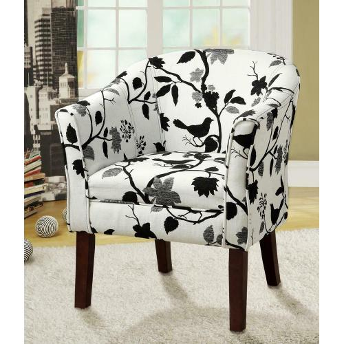 Coaster - Playful Bird and Branch Accent Chair