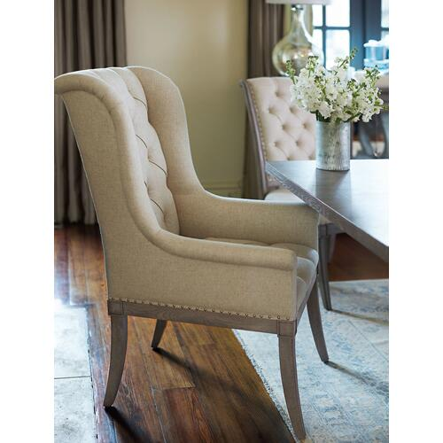 Gallery - Marquesa Host Dining Chair in Gray Cashmere (359)