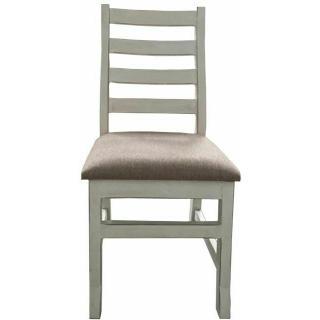 See Details - Weathered White Savannah Chair