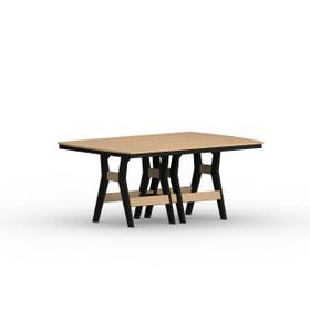 "Harbor 44"" x 72"" Rectangular Table - Bar"