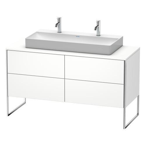 Duravit - Vanity Unit For Console Floorstanding, White Matte