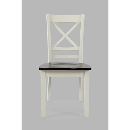 Jofran - Asbury Park Chair White/autumn