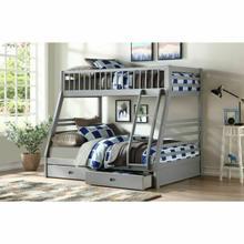 ACME Jason Bunk Bed (Twin/Twin & Storage) - 37840 - Gray