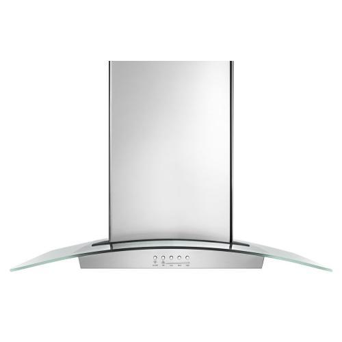 """Product Image - 36"""" Modern Glass Wall Mount Range Hood"""