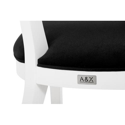 Gallery - Alek - Modern White Dining Chair (Set of 2)
