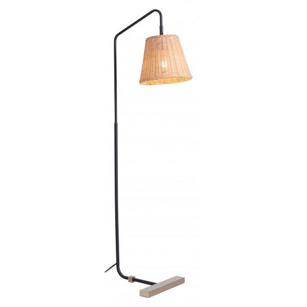 Malone Floor Lamp Natural